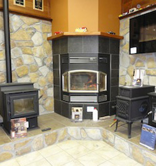 Valley Building Supplies Ltd. | wood stove displays