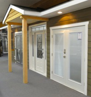 Valley Building Supplies Ltd. | showroom - doors and windows display